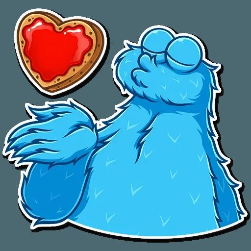 Cookie Monster - Sticker 2