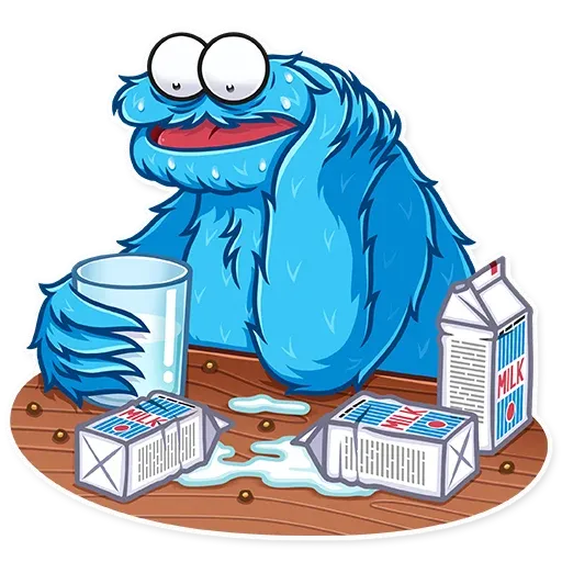 Cookie Monster - Sticker 4