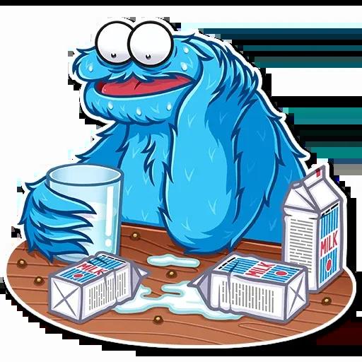 Cookie Monster - Sticker 4