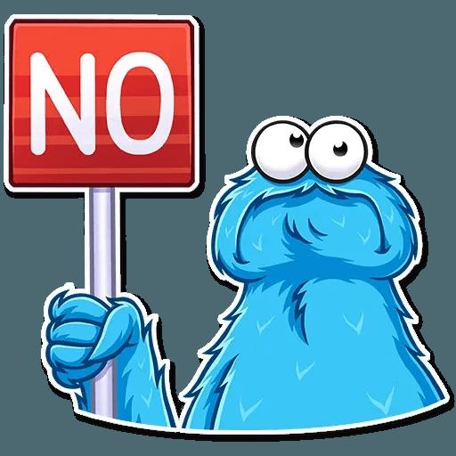 Cookie Monster - Sticker 10