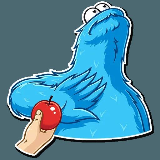 Cookie Monster - Sticker 12