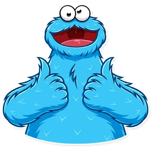 Cookie Monster - Sticker 3