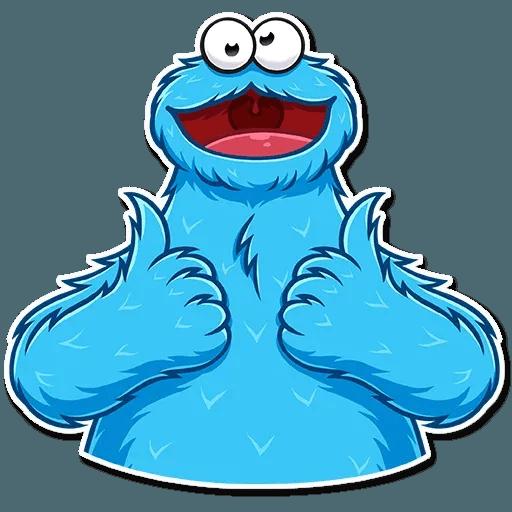 Cookie Monster - Sticker 3