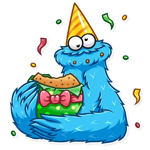 Cookie Monster - Sticker 27