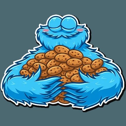 Cookie Monster - Sticker 18