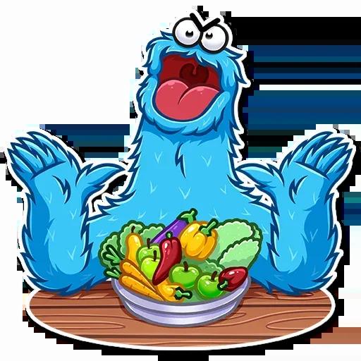Cookie Monster - Sticker 20