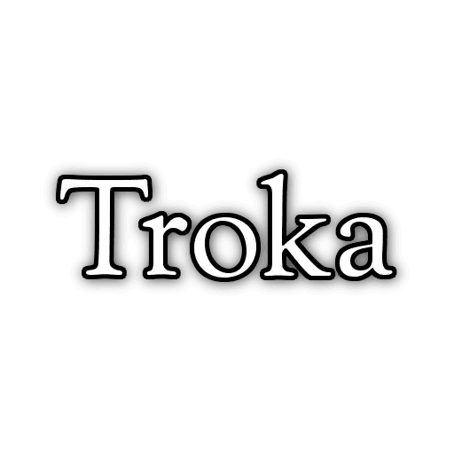 Troca - Tray Sticker