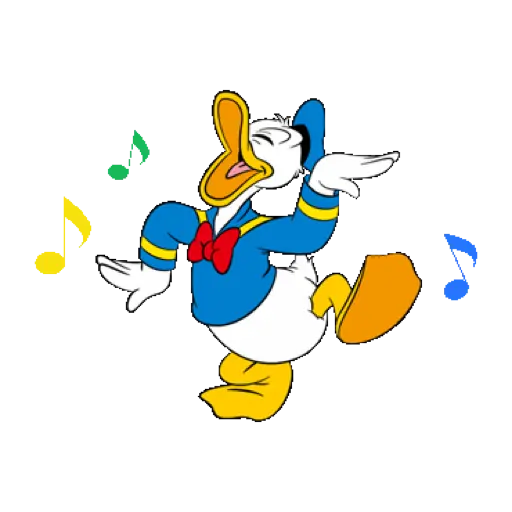 Donald Duck - Sticker 13