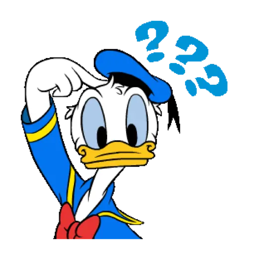 Donald Duck - Sticker 5