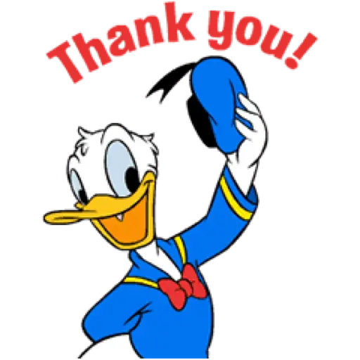 Donald Duck - Sticker 3