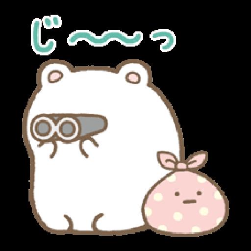 Sumikko Gurashi 狀聲詞篇 - Sticker 14