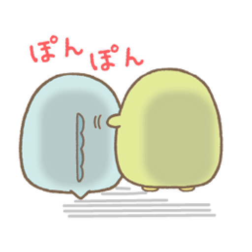 Sumikko Gurashi 狀聲詞篇 - Sticker 23