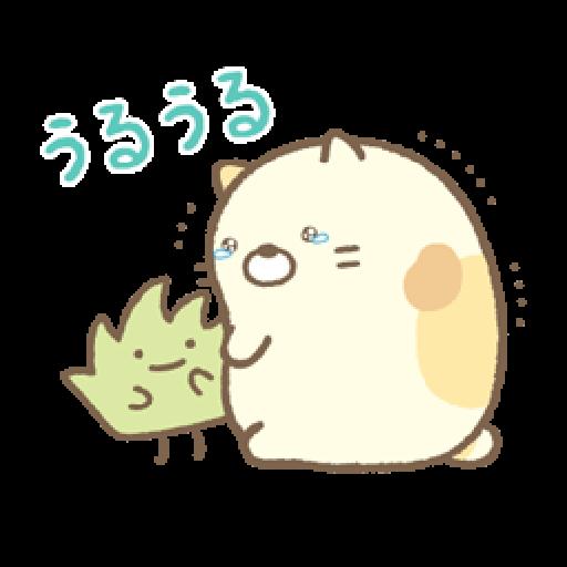 Sumikko Gurashi 狀聲詞篇 - Sticker 19