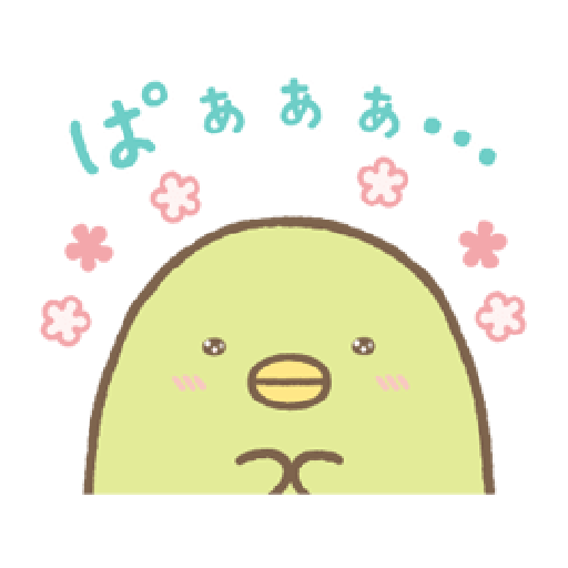 Sumikko Gurashi 狀聲詞篇 - Sticker 1