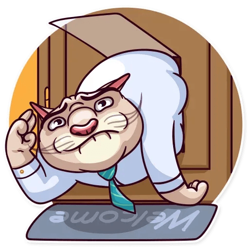 Big Boss Cat - Sticker 6