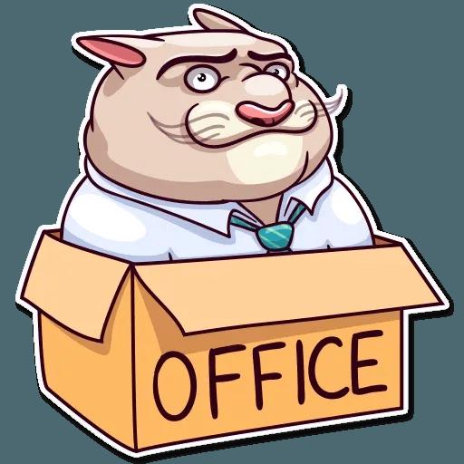 Big Boss Cat - Sticker 7