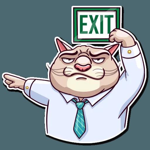 Big Boss Cat - Sticker 17