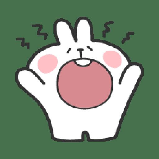 Rabbit Doodle 02 - Sticker 3