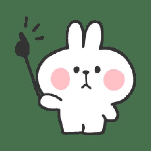 Rabbit Doodle 02 - Sticker 4