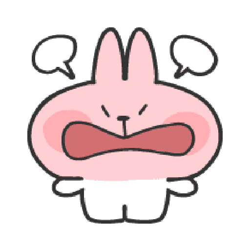 Rabbit Doodle 02 - Sticker 5