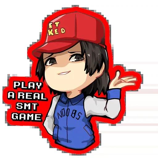 Persona5 - Tray Sticker