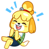 Isabelle - Tray Sticker