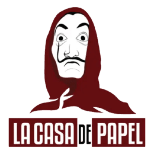 La casa de papel - Sticker 6