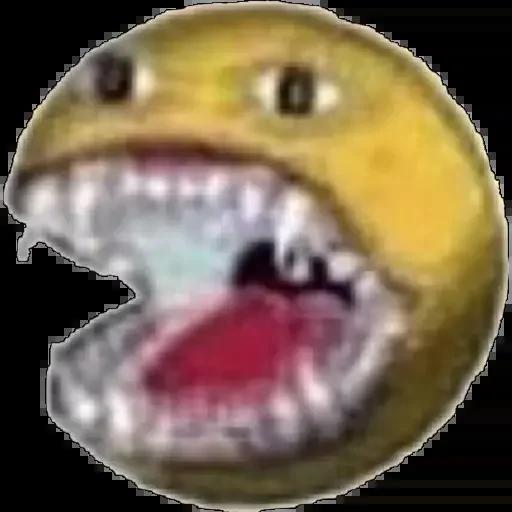 Cursed Smileys - Sticker 24