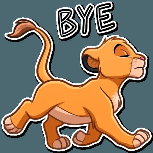 Simba - Sticker 2
