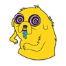 Jake - Tray Sticker