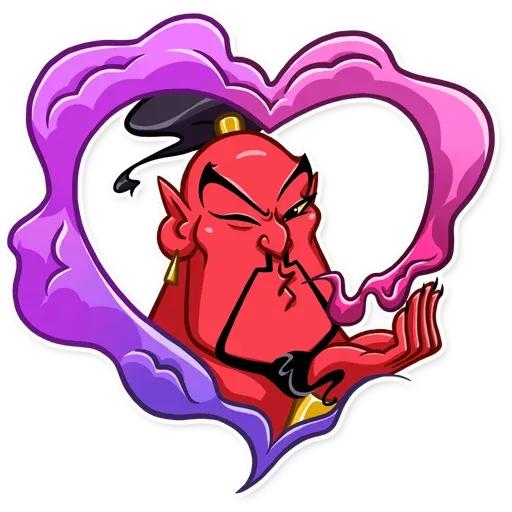 Evil Genie - Sticker 2
