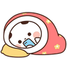 Panda2 - Tray Sticker
