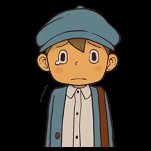 Professor Layton 1 - Sticker 16