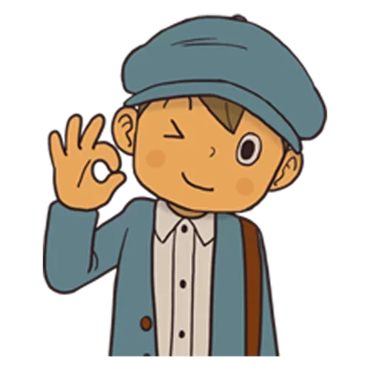 Professor Layton 1 - Sticker 13