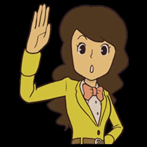 Professor Layton 1 - Sticker 23
