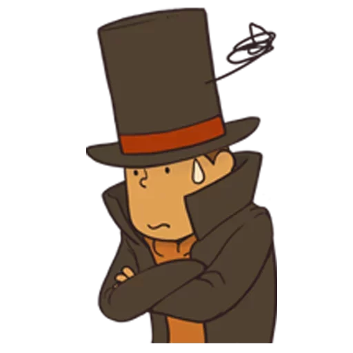 Professor Layton 1 - Sticker 4