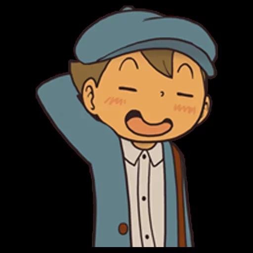 Professor Layton 1 - Sticker 19