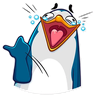 Penguins - Tray Sticker