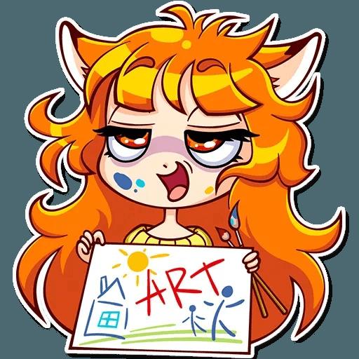 Fox Girl - Sticker 29