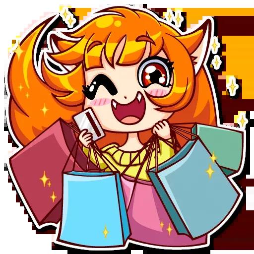 Fox Girl - Sticker 27