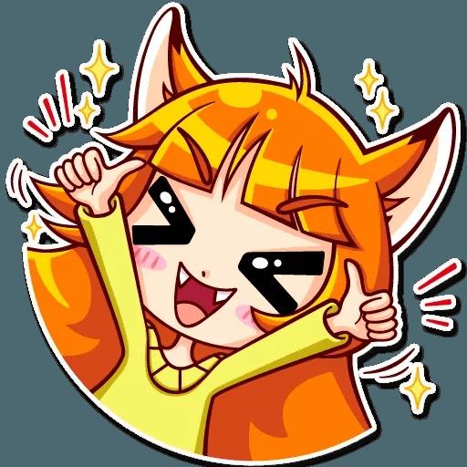Fox Girl - Sticker 4