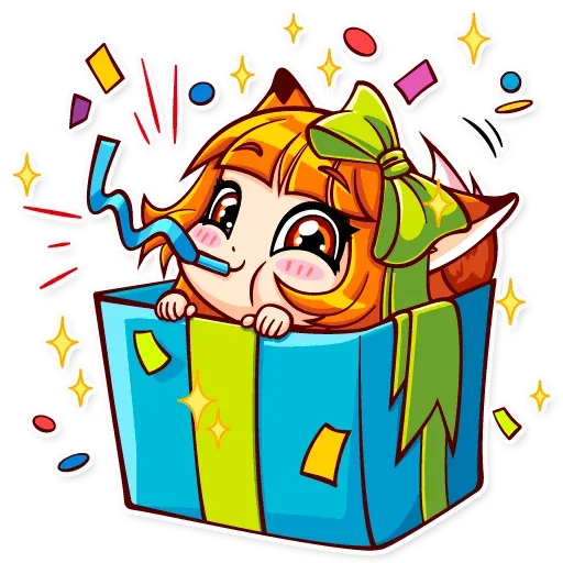 Fox Girl - Sticker 16