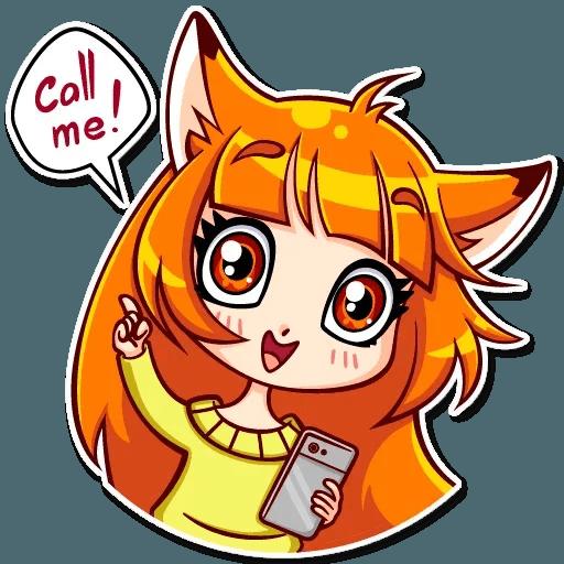 Fox Girl - Sticker 21