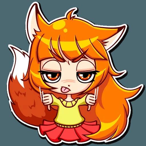 Fox Girl - Sticker 17