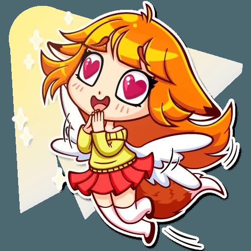 Fox Girl - Sticker 23