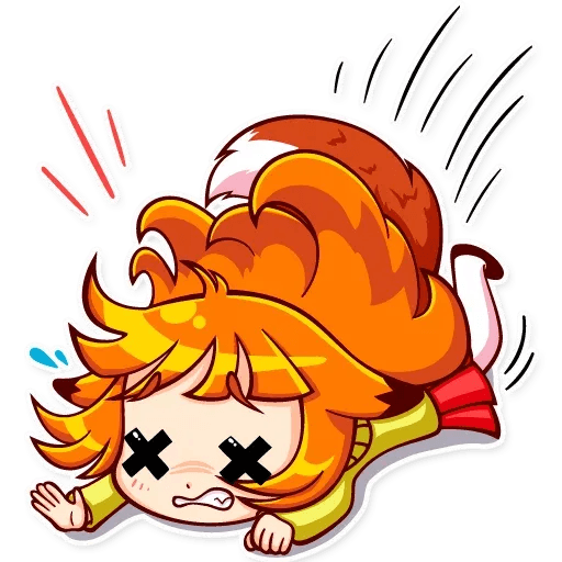 Fox Girl - Sticker 20