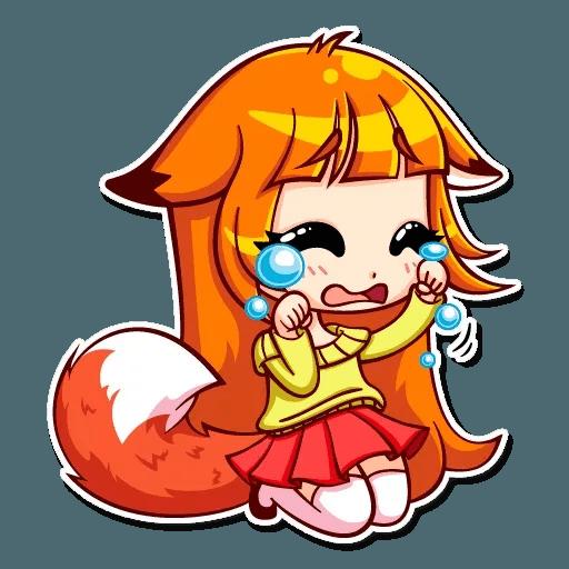 Fox Girl - Sticker 7