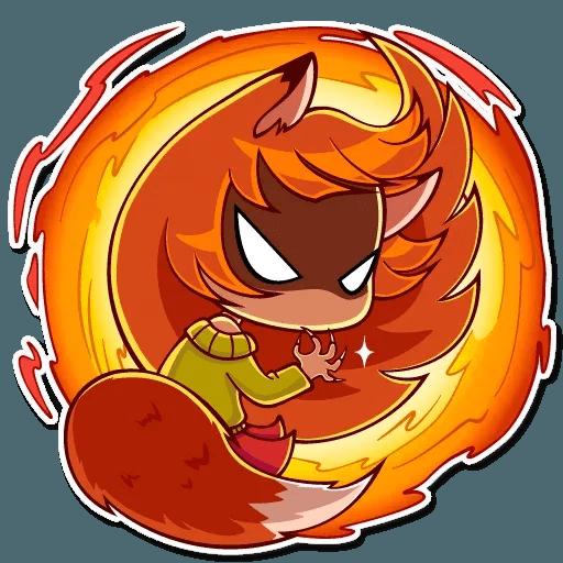 Fox Girl - Sticker 28