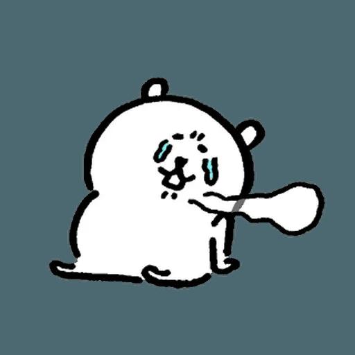 自我吐糟的白熊5 - Sticker 5