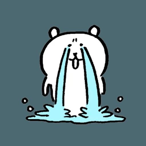 自我吐糟的白熊5 - Sticker 1